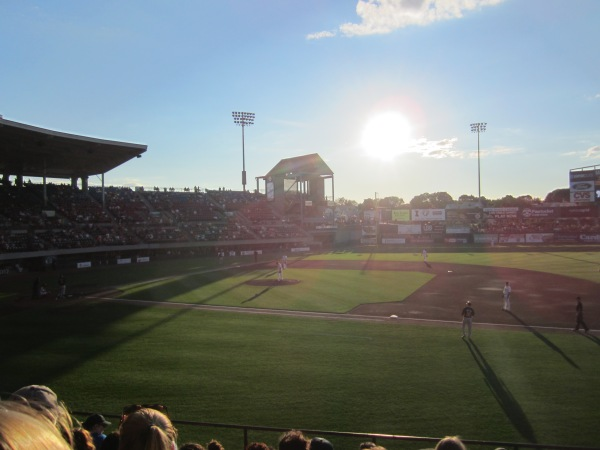 Paw Sox in the Gloaming