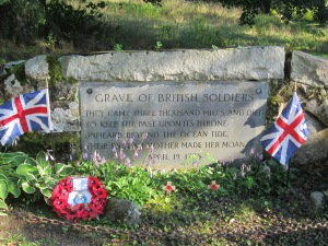 Monument to fallen British Soldiers