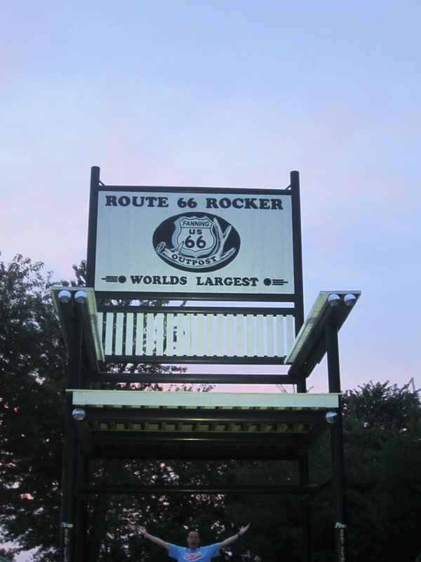 World's Biggest Rocking Chair