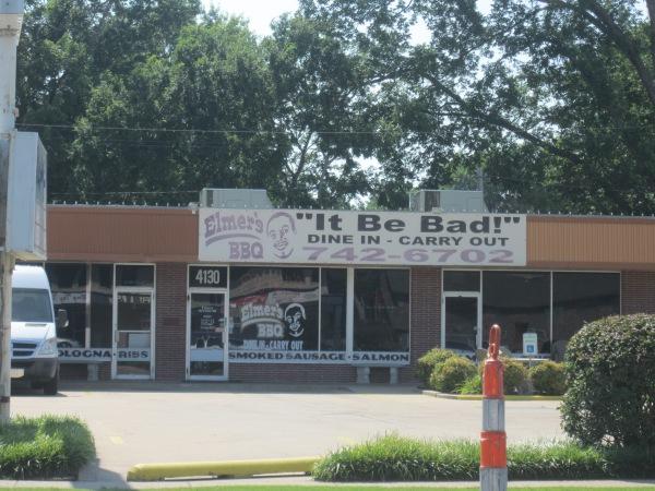 It be bad