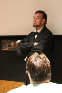 Abraham Lincoln Impersonator