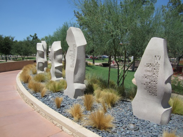 Bill of Rights statue Arizona