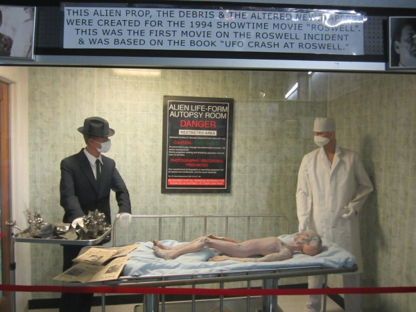 Roswell movie set