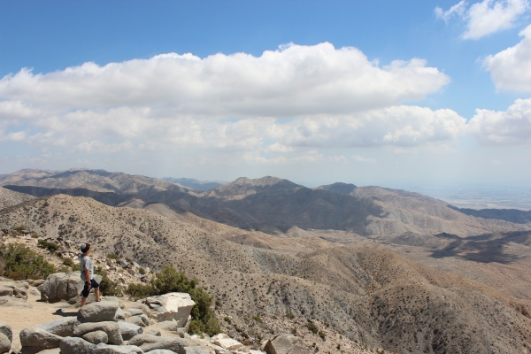 The Hamster looks out over Coachella Valley and the San Andreas fault.