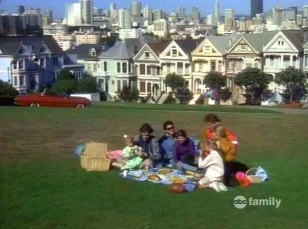 Full House Picnic Alamo Square Park