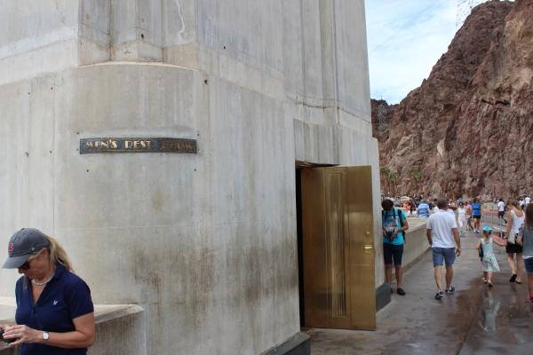 Hoover Dam Men's Room