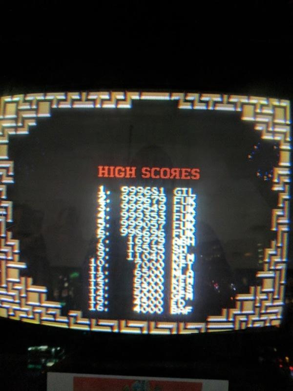 Tetris high score