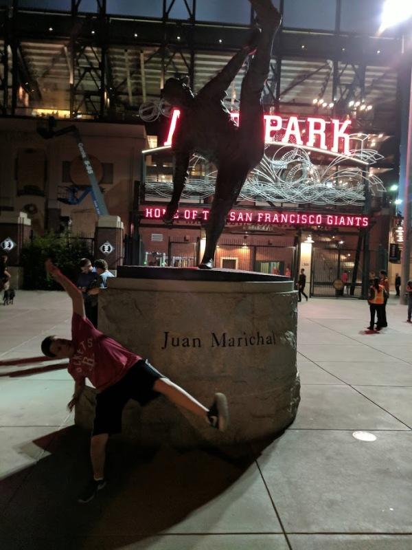 Juan Marichal Statue AT&T Park